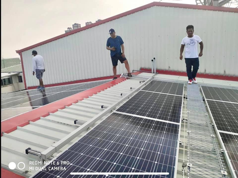 市府推動綠能屋頂政策